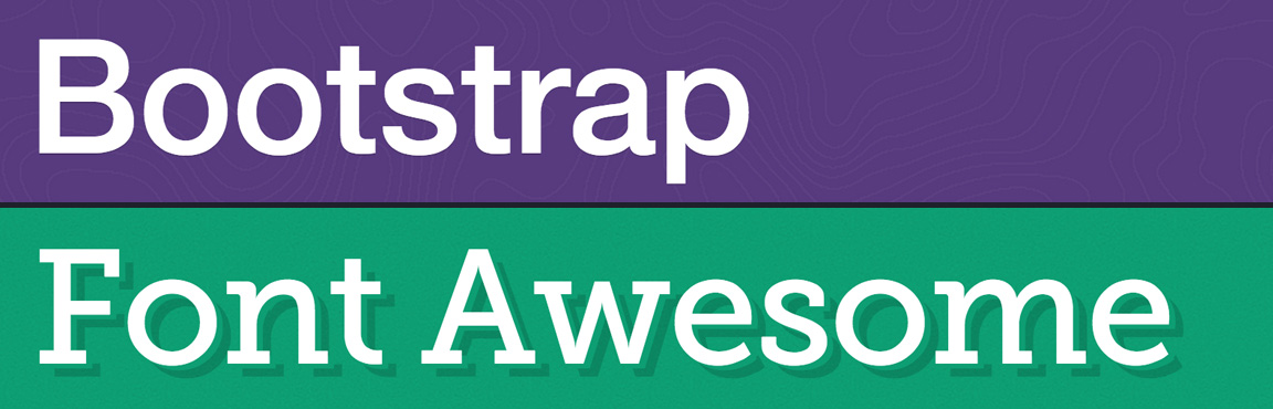 Bootstrap and Font Awesome
