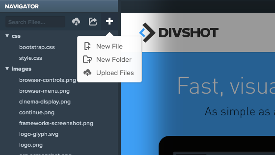 Divshot Projects