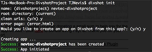 Configure Your Divshot App